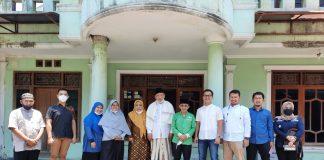 Foto bersama PCNU Cianjur bersama tim survei dari Bandung